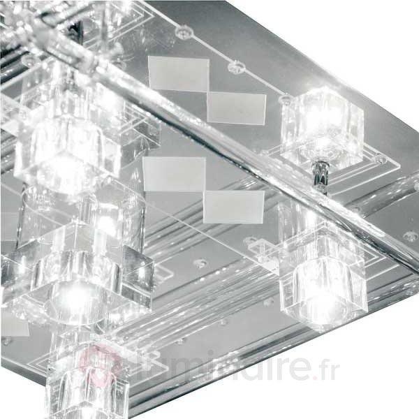 Plafonnier à LED KEMAL + télécommande - Plafonniers LED