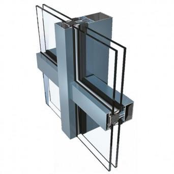 Ponzio PF 152 HI mit Zweifachverglasung - Aluminiumfenster
