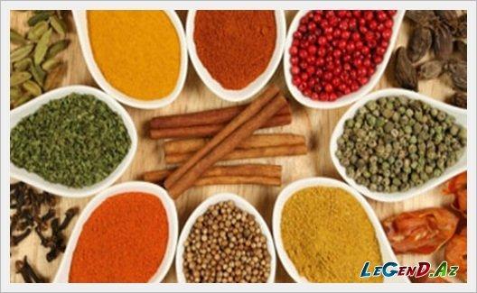 sumac - many kinds od spices like cumin and oregano