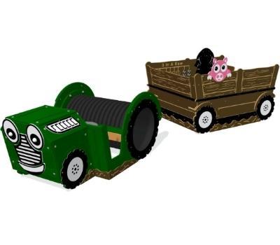 Speeltuintoestellen - Hoogwaardige kunststof speeltuintoestellen die kleurvast en onderhoudsarm zijn.