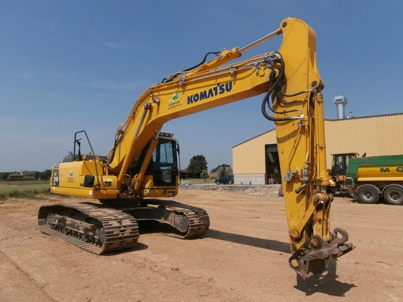 Excavators - KOMATSU PC210