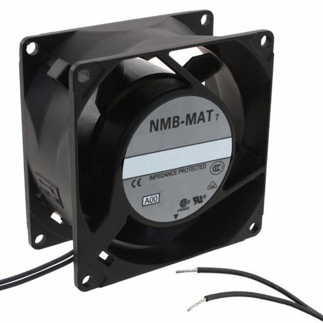 FAN AXIAL 80X38MM 115VAC WIRE - NMB Technologies Corporation 3115FS-12W-B30-A00