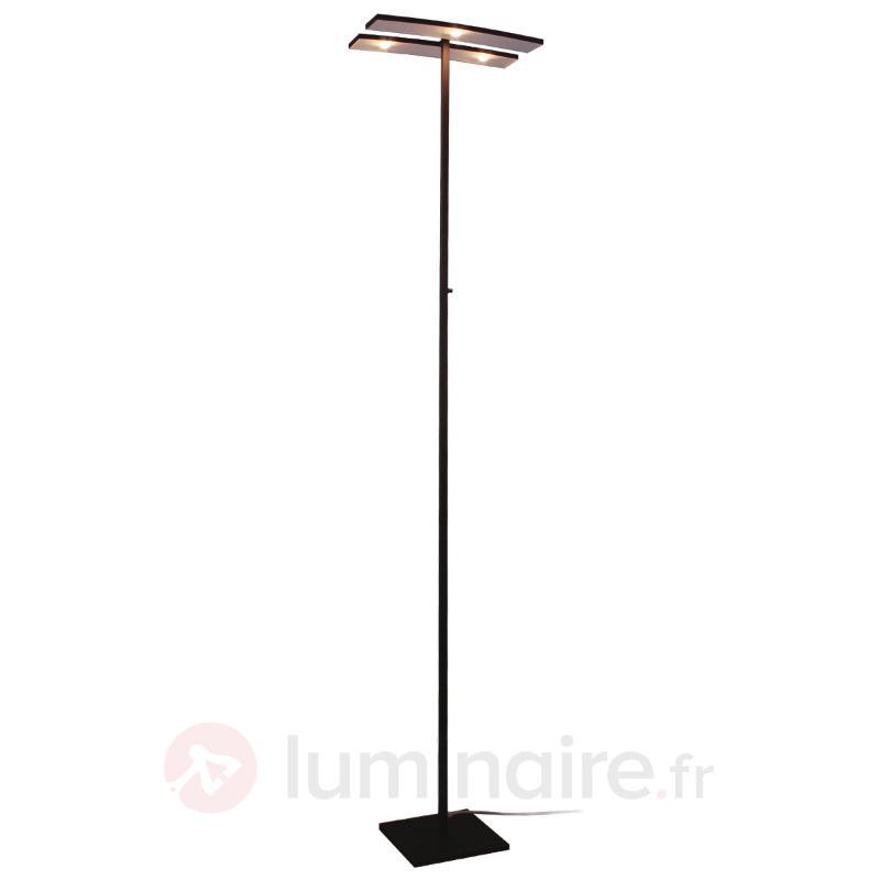 Lampadaire LED Arco avec éléments inclinables - Lampadaires LED