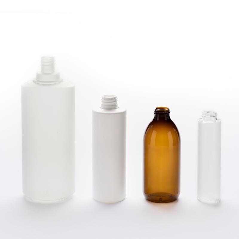 Flacon Plastique - pour cosmétique et parapharmacie