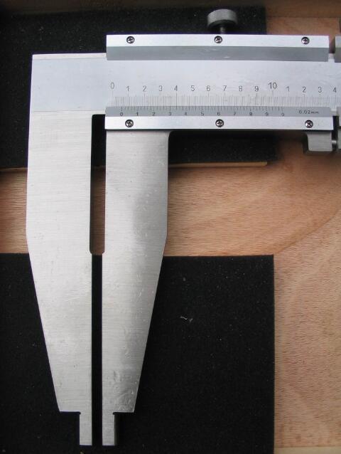 IV type vernier caliper - MEASURING INSTRUMENTS