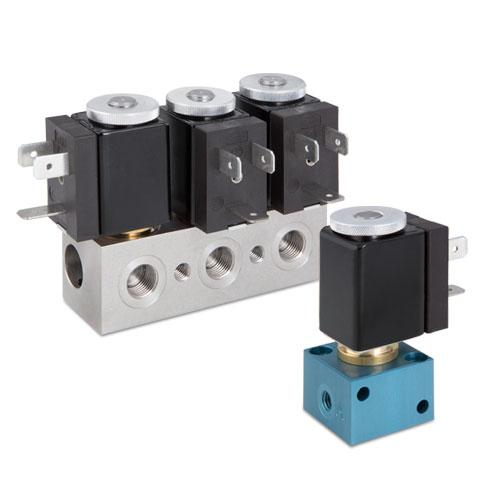 STAIGER Solenoid Valves - 2-way or 3-way valves, normally closed or normally open