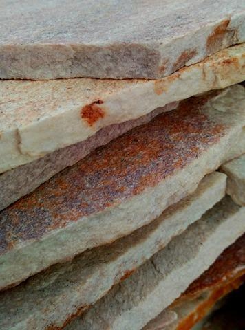 Quarzite Brasil rosa e gialla - Pietra resistente all'usura ed antisdrucciolo