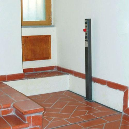 Onestep - Piattaforma Elevatrice a scomparsa per piccoli dislivelli