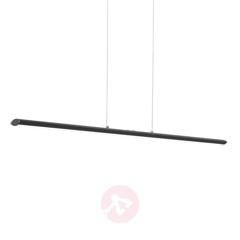 Black Pellaro LED hanging light, dimmable