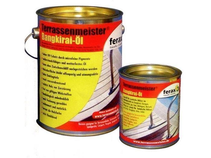 Terrassenpflege Produkte - Bangkirai-Terrassenpflege Öl speziell für exotische Hölzer 7