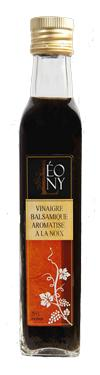 Vinaigre Balsamique BIO Aromatisé Noix  - 6 % LEONY