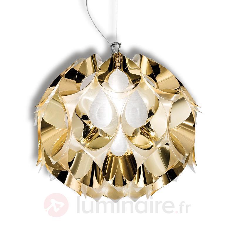 Magnifique suspension Flora en doré, 36 cm - Suspensions design