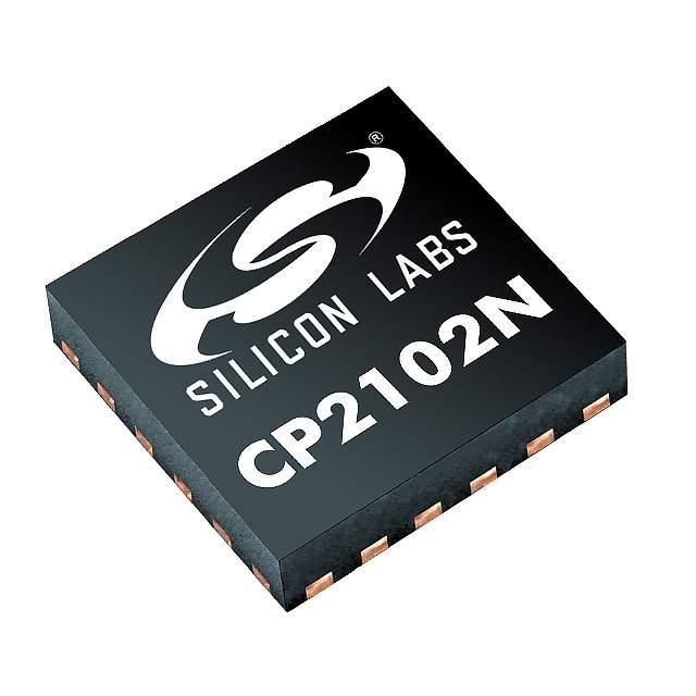 IC BRIDGE USB TO UART 24QFN - Silicon Labs CP2102N-A01-GQFN24