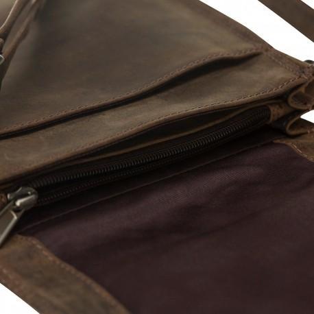 Nebula Leather Crossbody Bag - Galactic Series