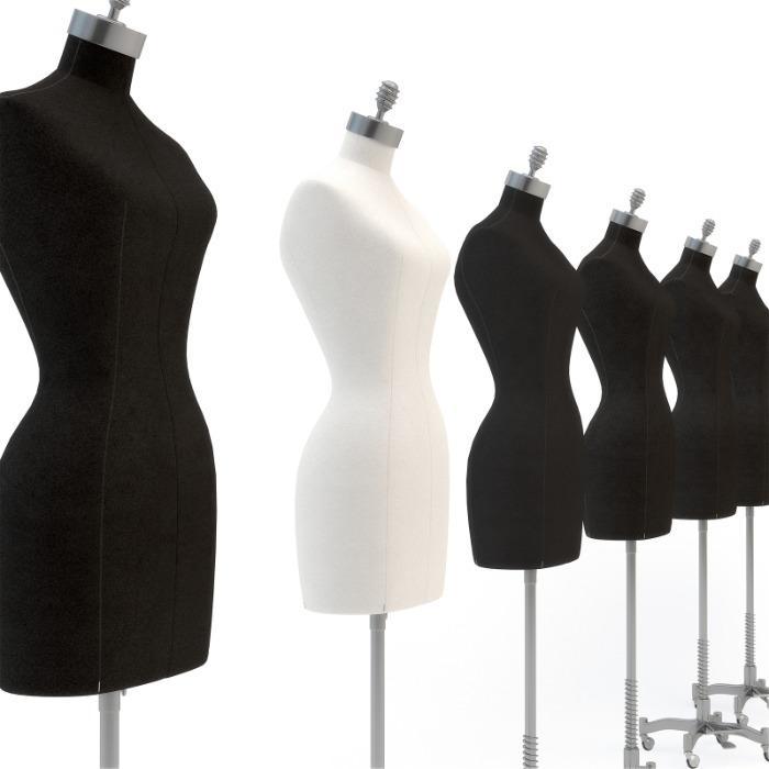 Female mannequin bust - Window mannequins