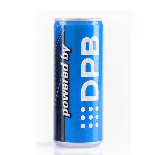 Energy Drink 250ml dose mit ihrem eigenen Logo bedruckt