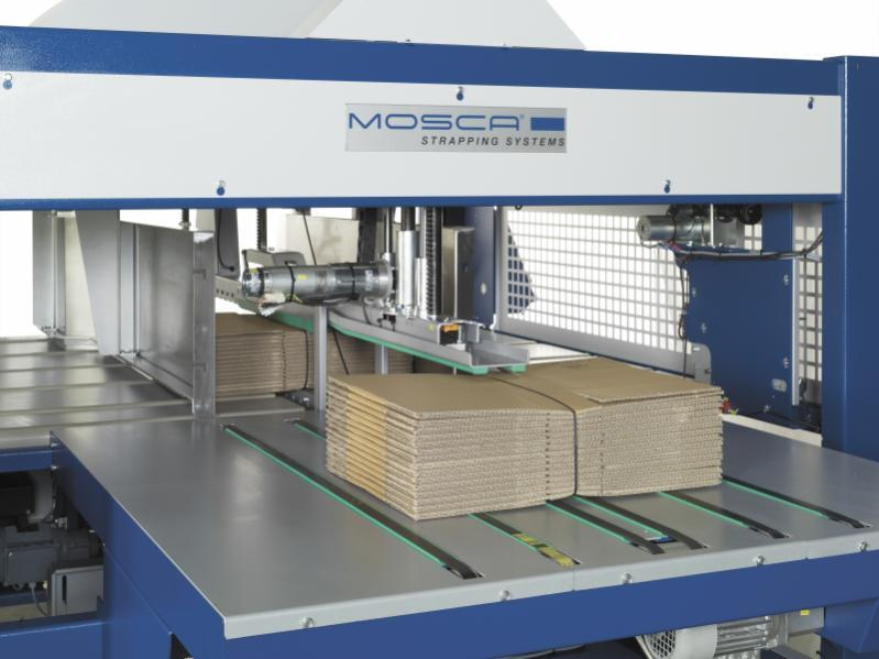 MCB-2 - Máquina flejadora en linea totalmente automática