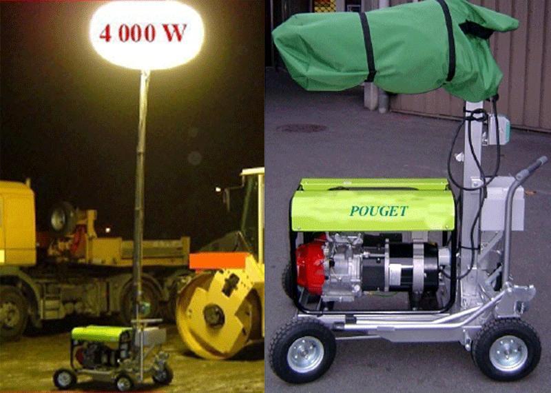 Lighting Equipment - Ultra-Powerful Mobile Lighting Set