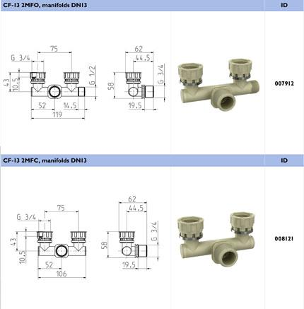 Manifolds DN 13 - CF-13.