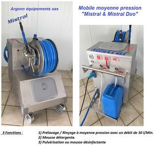 "Mobile Moyenne Pression ""mistral & Mistral Duo"" - null"
