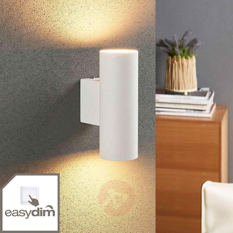 Cylindrical LED wall lamp Marly, Easydim - indoor-lighting