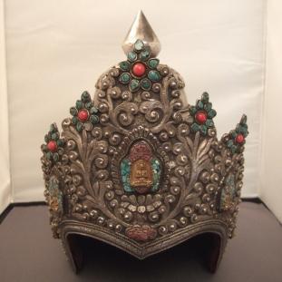 Ornements - Argent, cuivre, tissu, turquoises, coraux, vermeil, Népal