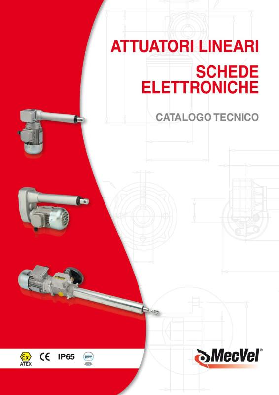 Attuatori elettrici - Moto lineare e rotativo