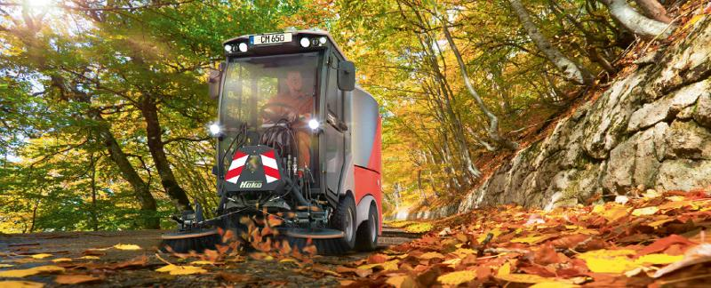 Citymaster 650 - Multifunctional outdoor cleaning machine in the 2-t class