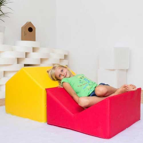 A pillow foldable house -