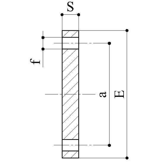 Flange cieche ansi - Raccordi PVC