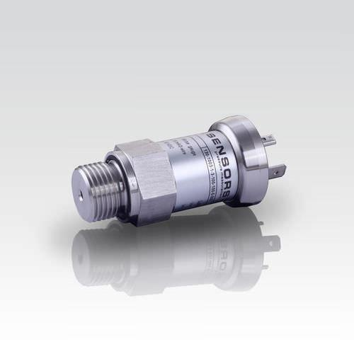 Pressure Transmitter DMP 333 - pressure transmitter / membrane / analog / stainless steel