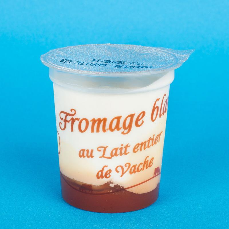 fromage blanc sur lit de gratte cul 4x125G - Produits laitiers