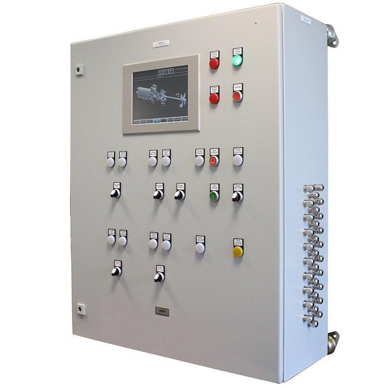 panel de mando y control para buque - panel de mando y control para buque