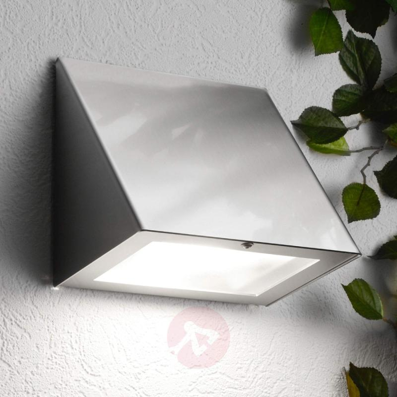 Aqua Peso LED Exterior Wall Lamp - stainless-steel-outdoor-wall-lights