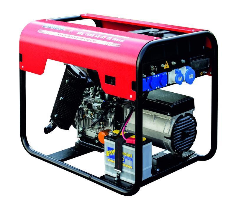POWER GENERATOR for Professional users - ESE 604 YS ES Diesel