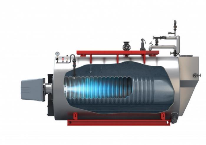 Bosch Steam boiler - Universal UL-S, UL-SX - Bosch Steam boiler UL-S, UL-SX - 3-pass single-flame tube/smoke tube technology