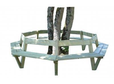 Banc Soleil Tour D'arbres - Bancs