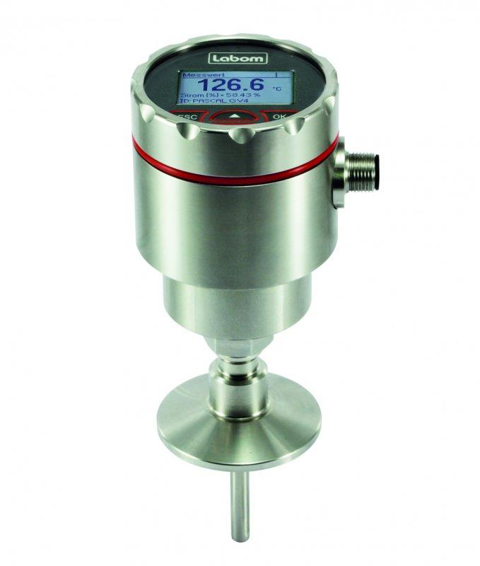 Temperature transmitter GV4 for thermowell installation - Temperature measuring transmitter for installation in a separate thermowell
