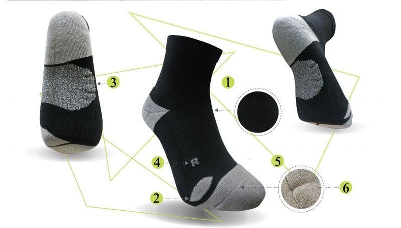Düşük ayak sağlık yastığı çorap -