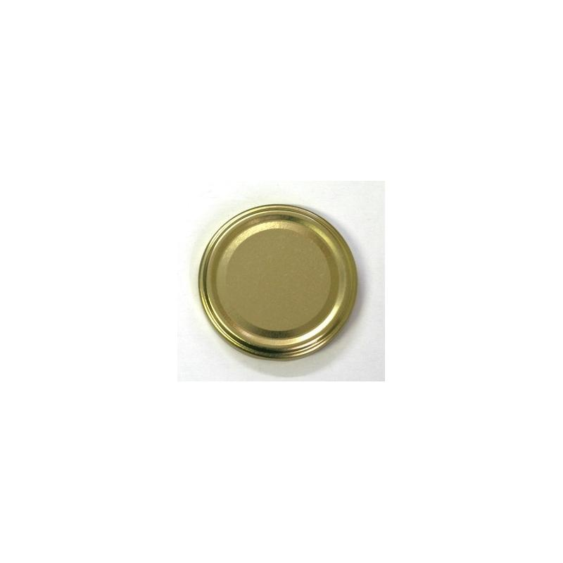 100 caps TO 70 mm Gold color for pasteurization - GOLD