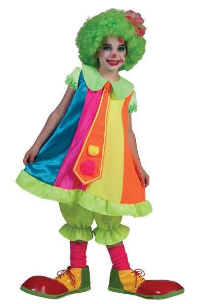 Costume de clown fille - null