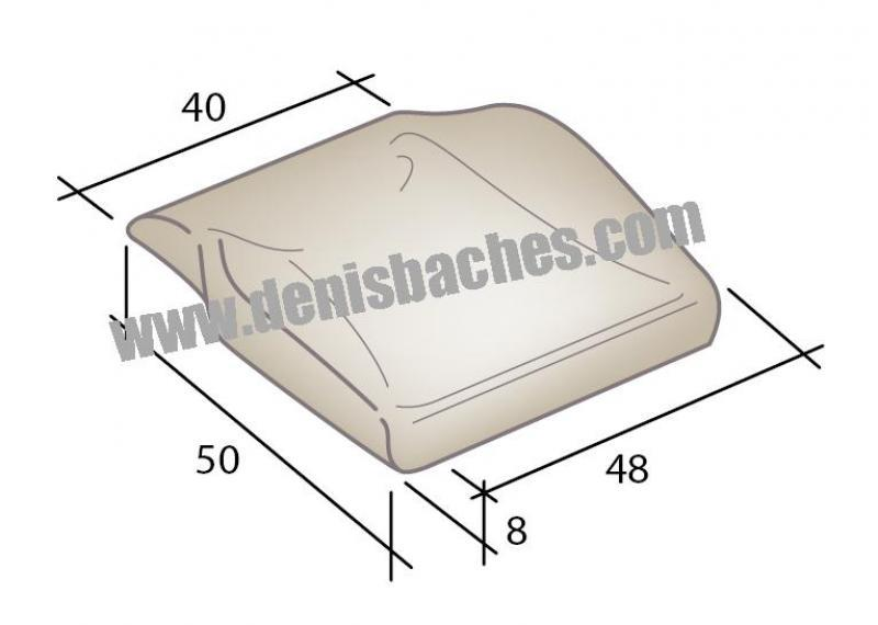 Assise mousse pour Isri A - assiseisri