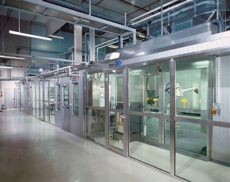 Cleanroom technology - wet-painting