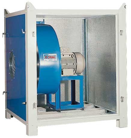 BOX caisson insonorisé pour ventilateur - Insonorisation