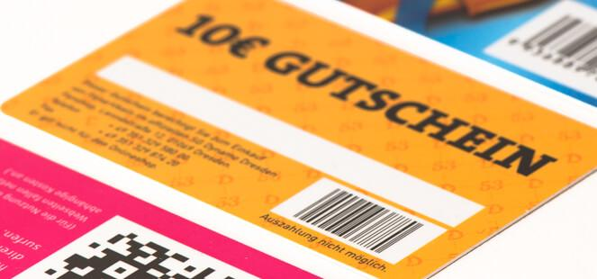 Barcode cards - Professional print of Barcodes and QR-Codes on Plastic cards