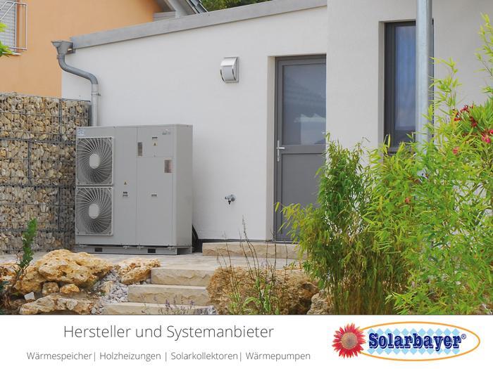 Solarbayer Luft-/Wasser-Wärmepumpe  - AeroMono