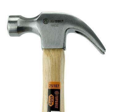 Marteau arrache-clous 450 g - 4 pièces - Outillage à main