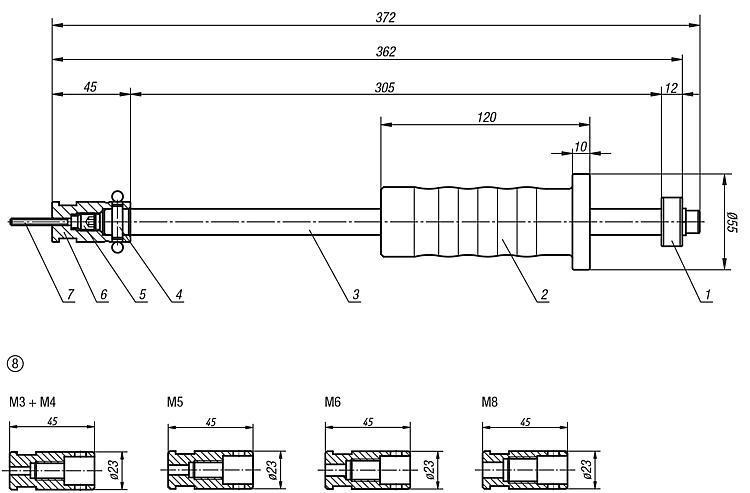 Extracteur - Accessoires