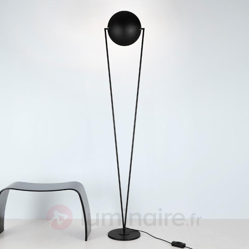 Lampadaire inclinable VICTORY aspect projecteur - Lampadaires à éclairage indirect