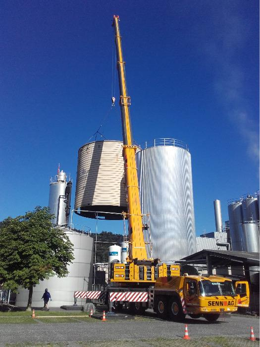 Lipp® Tank Refurbishing - Cost-effective refurbishing or volume expansion of containers or tanks